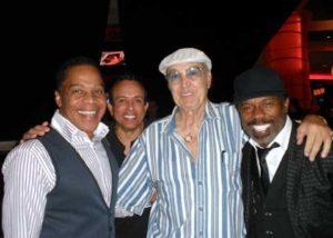 Earl, Finis Henderson, Steve Rossi and Tony Tillman