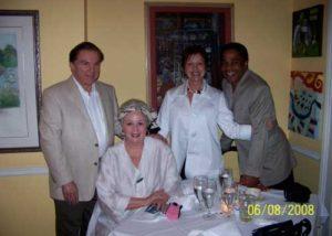 Irwin Marcus, Angela Hill, Christine and Earl