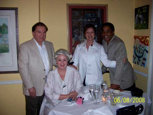 Irwin Marcus, Angela Hill, Christine and Earl