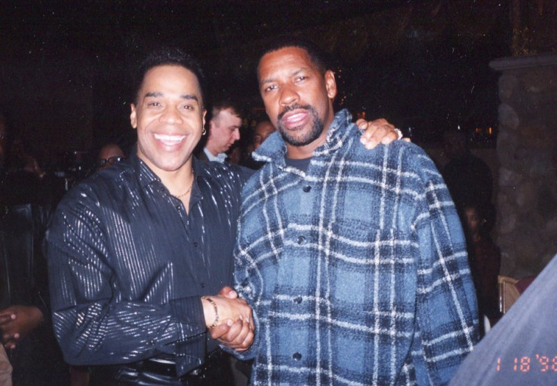 Earl and Denzel Washington