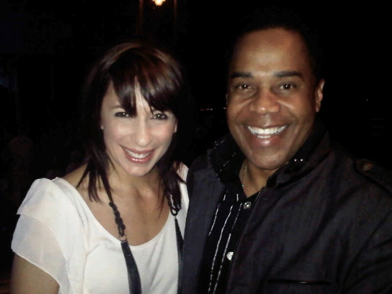 Choreographer Tabitha Dumo (NappyTabs) and Earl