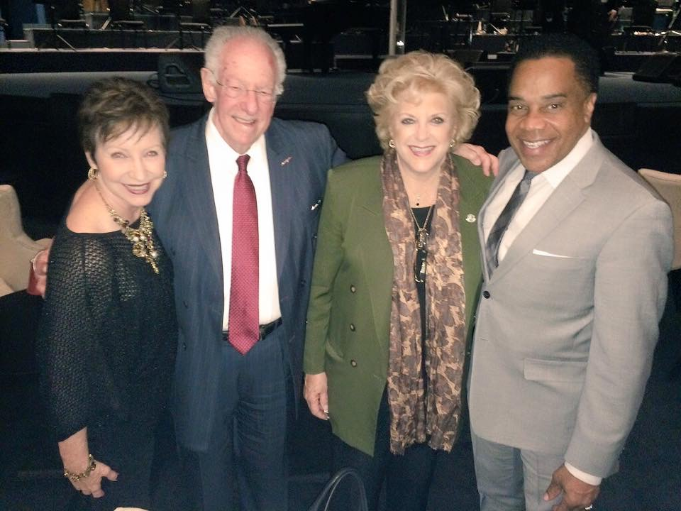 Christine and Earl with Former Las Vegas Mayor Oscar Goodman and Las Vegas Mayor Caroline Goodman