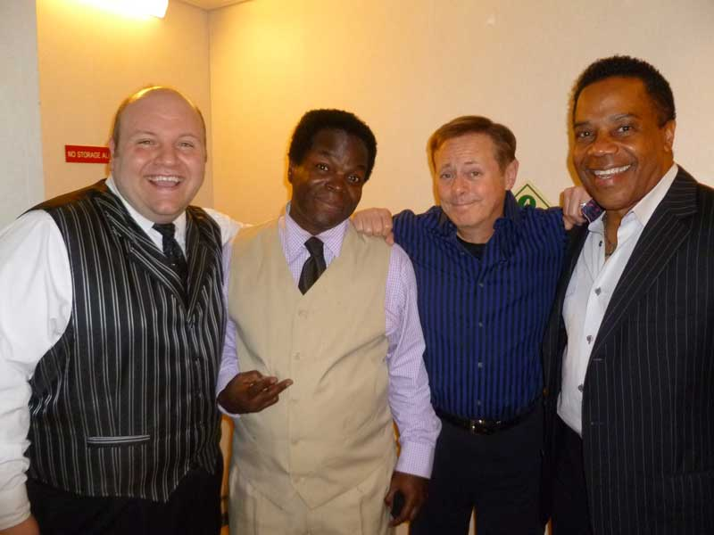 Comedians Simeon Kirkiles, AJ Jamal, with Ventrolquist Ronn Lucas and Earl