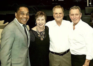 Earl and Christine with Conductor-Arranger Vinnie Falcone and Entertainer Bob Anderson