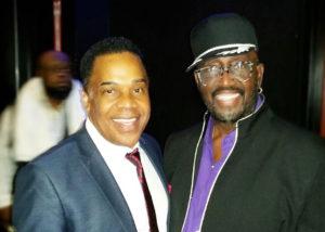 Earl with Original Temptation Otis Williams