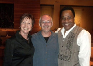 Earl and Christine with Paul Young