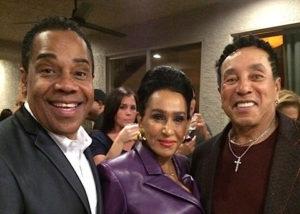 Earl, Frances and Smokey Robinson