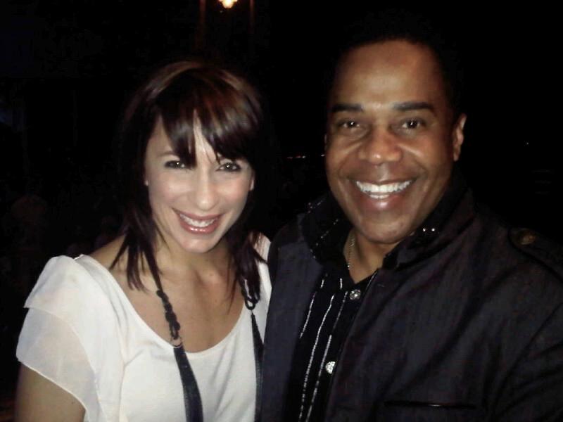 Choreographer Tabitha Dumo (NappyTabs) and Earl
