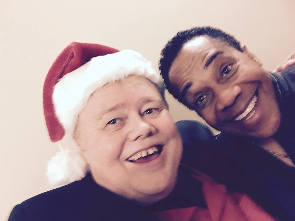 Comedian Louie Anderson and Earl