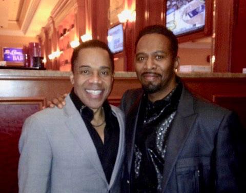 Earl and Singer Barrington Henderson