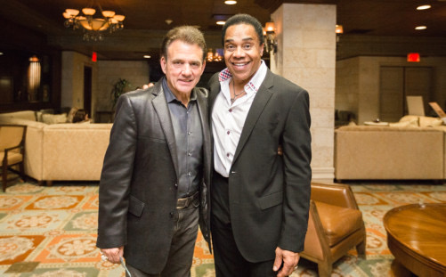 Earl and Las Vegas Entertainer Tony Sacca