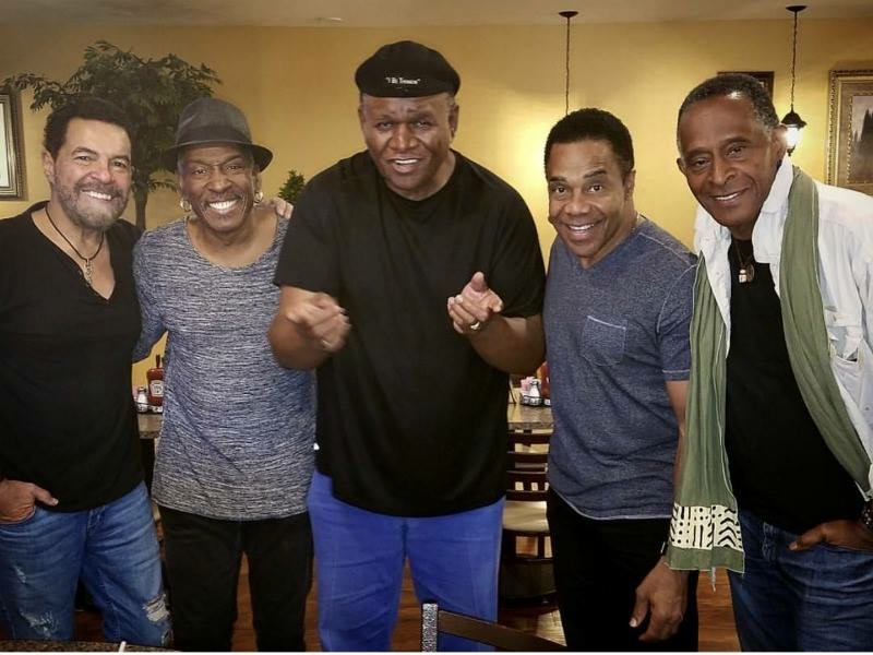 The Brother's Breakfast Club with guest, comedian George Wallace. Clint Holmes, Jerry Metellus, Earl and Antonio Fargas